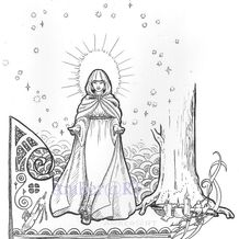 Book illustration - IMBOLC